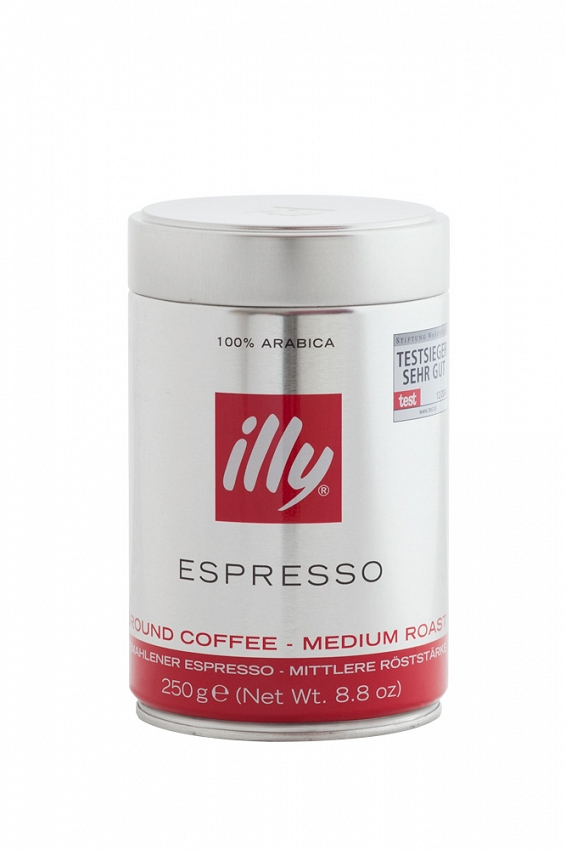 Illy Espresso Medium Roast - mielona